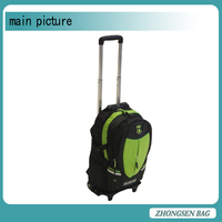 2015 Cute kids travel trolley bag rugged kids school trolley bag