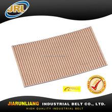 6.5mm beige slope conveyor belts for paper industry