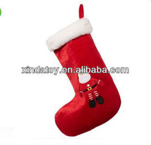 Plush Hamleys Santa sock toy