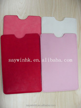 PU Leather tablet sleeve for 7 inch Tablet PC in Red