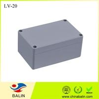 LV-20 waterproof aluminum enclosure box ip65