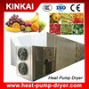 Working capacity 200 to 2500 kg per load heat pump drier for fruits and vegetables