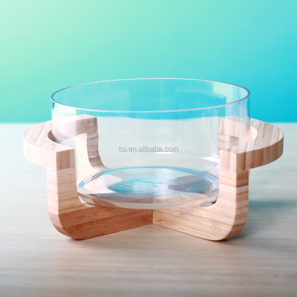 Wooden Salad Bowl With Stand Salad Bowl With Wooden
