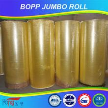 China Manufacturer, High Quality bopp Jumbo roll Tape