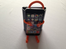 Mobile phone bag Mobile Cell Phone Holder Hangs silicone Wall Charger charging rack