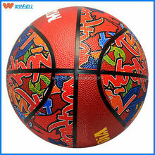 New exercise synthetic 7# synthetic rubber basketball