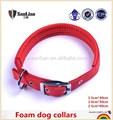 suave de nylon para mascotas collares de choque de la espuma de collares de perro
