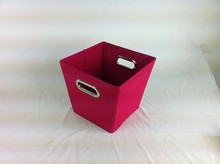 Storage Bin with Metal Handles Wholesale storage box