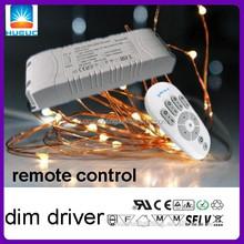 wireless CC 30w 700&900&1100ma remote control led tube driver