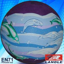 Standard Size inflatable bungee basketball