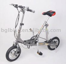 2016 new 12inch folding electric bike with CE pocket folding electric bike