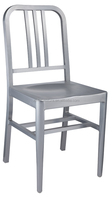 Aluminum Navy Chair burshed /power coating . Restaurant chair . hotel chair M-7