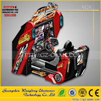 55 inch full-motion arcade car racing arcade game machine for sale