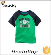 Kids Clothing Tees Baby boy Tops Kids O Neck T shirt children's printed t-shirt Spring 100% Cotton Children Sleeve T-Shirts