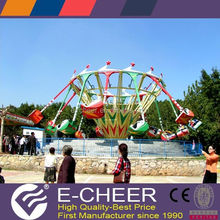 Lovely design and super fun swing 8 seats theme park rides for sales