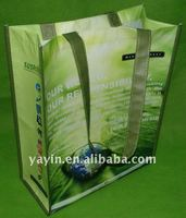 Laminated Recycled PET Non Woven Shopping Bag