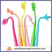 Color promotional foldable gesture pen