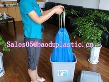 garbage bag drawstring trash bags draw tape rubbish bags