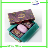 cheap handmade soap paper packaging box manufacture in Dongguan
