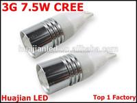 New White Car LED T15/T10/194 7W high power Q5 Single Filament Light Bulb Lamp a