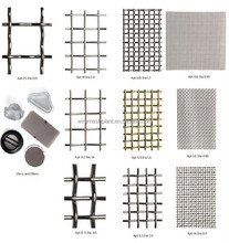 Crimped Wire Mesh/Iron wire crimped mesh/stainless steel crimped wire mesh