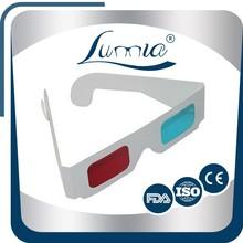Unisex cheap chinese sunglasses paper 3d glasses