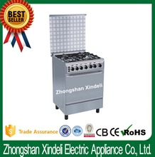"""Canton Fair Nigeria freestanding 4 burners Gas Oven with range and griddle, 24"""" gas oven, free standing gas cooker oven"""