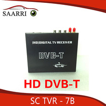 Mobile DVB-T TV Receiver, Receiving Channel Range:174~230MHz, 470~862MHz, Working speed:140-190KM/H, SC TVR-7B
