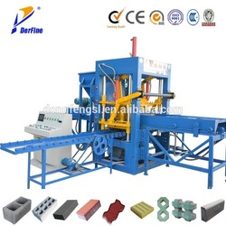 DYF3-20 soil cement block making machine / small scale machines / interlocking concrete blocks