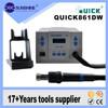 High quality hot air bga smd rework station original Quick 861DW