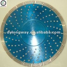 "300mm,12""diamond saw blade,blade saw for granite,concrete saw,hot pressed fine turbo with many holes and iron sticker"
