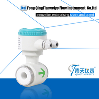 Electromagnetic clamp flow meters for water