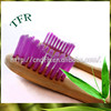 Excellent hand held 100% biodegradable hotel best toothbrush wholesale