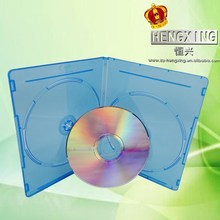 7mm PP cute double blu ray case for CD DVD wholesale