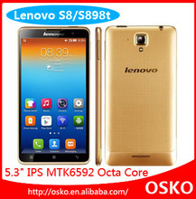 2GB RAM Cortex A7 octa core 5.3'' mobile phone lenovo S898T+