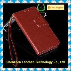 hot selling top quality Wallet Leather Case Photoframe Flip PU Cover With Credit Card Holder Pouch for Iphone 6