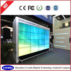 China supplier 42 inch full color lcd video wall with lg led tv panel