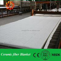 128kg/m3 double aluminum silicate blanket thermal insulation material for oven