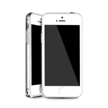 lovely wholesale OEM metal cell phone 4.0 inch silver case for iPhone 5