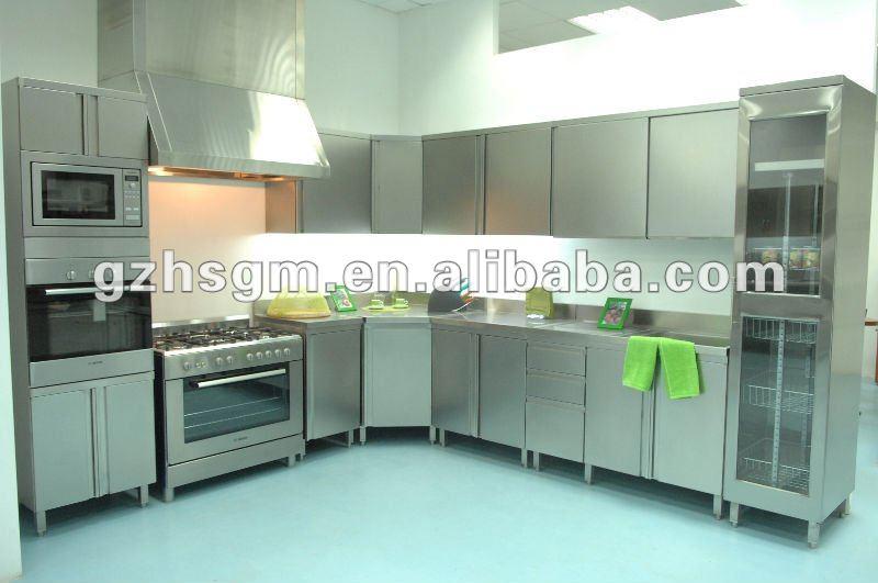 da cucina mobili/unità in acciaio inox da cucina-Mobili per Cucina ...