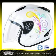 FUSHI 2015 new style open face fancy motorcycle helmets