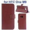 China supplier Protective Wallet Leather case for HTC One M9