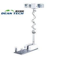 Portable Lifting Electric Movable Mobile Vehicle-Mounted Light Tower