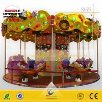 JJ-001 lottery game club kiddy ride machine/carousel sandy horse kiddie ride