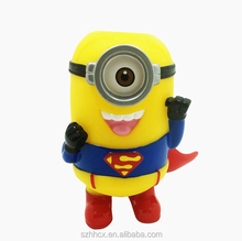 Hotsale Mini Minions Doll Bluetooth Speaker with FM radio and Hands-free Fuction