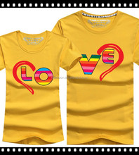 Wholesale Design 100% Cotton Couple Shirts For Lovers