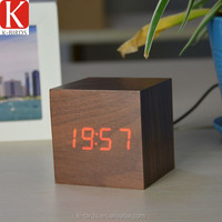 ECO-friendly wooden digital clock timer for kitchen