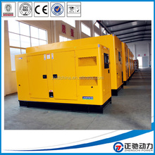 500kva electric generator with silent canopy