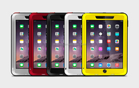 Hot Selling Waterproof Shockproof Dirtproof Case Strong Aluminum Metal Case Cover for iPad Air 2