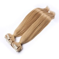 2015 new arrival 100% human hair clip in hair extension for black women